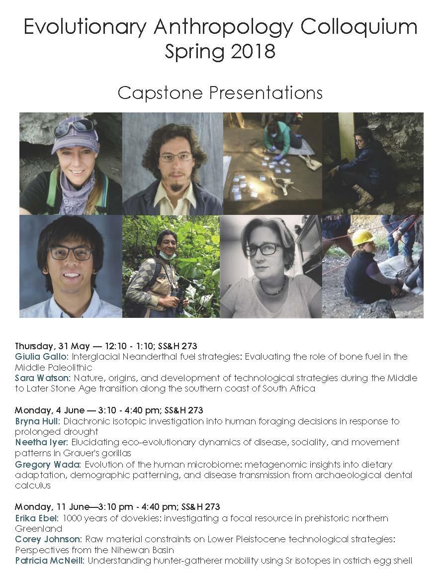 Capstone Presentations