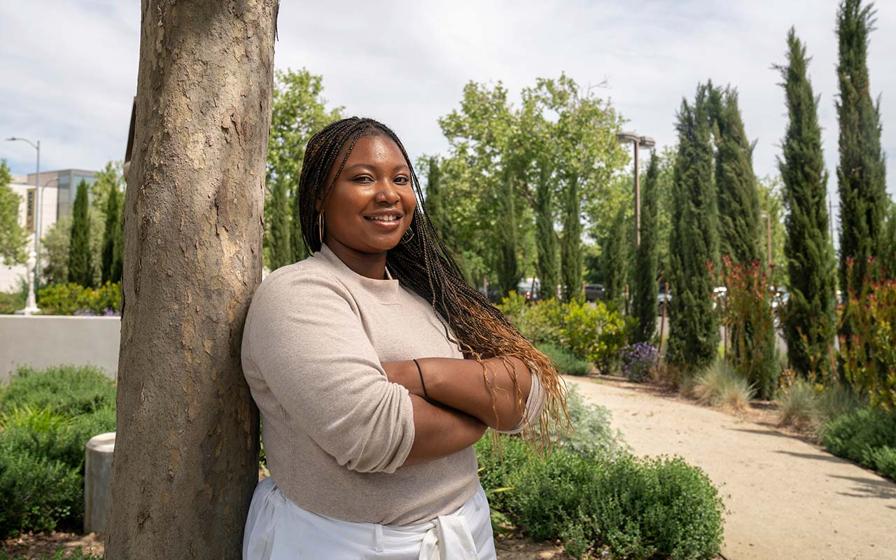 "ANT Undergrad Valencia Scott named as ""Aggie Hero"" and 2019-20 Student Advisor to Chancellor"
