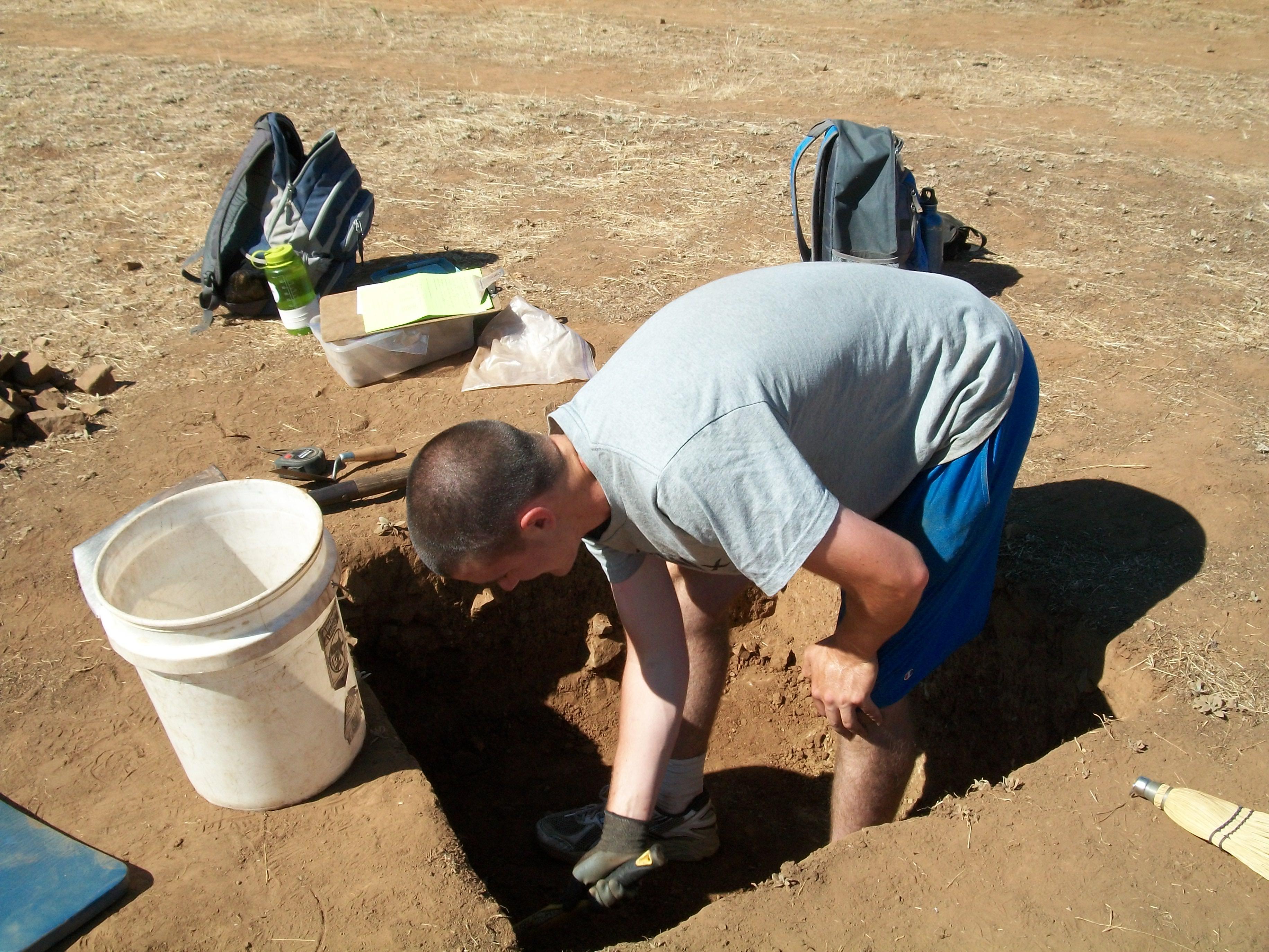 Forest Excavates at CA-MRP-1881