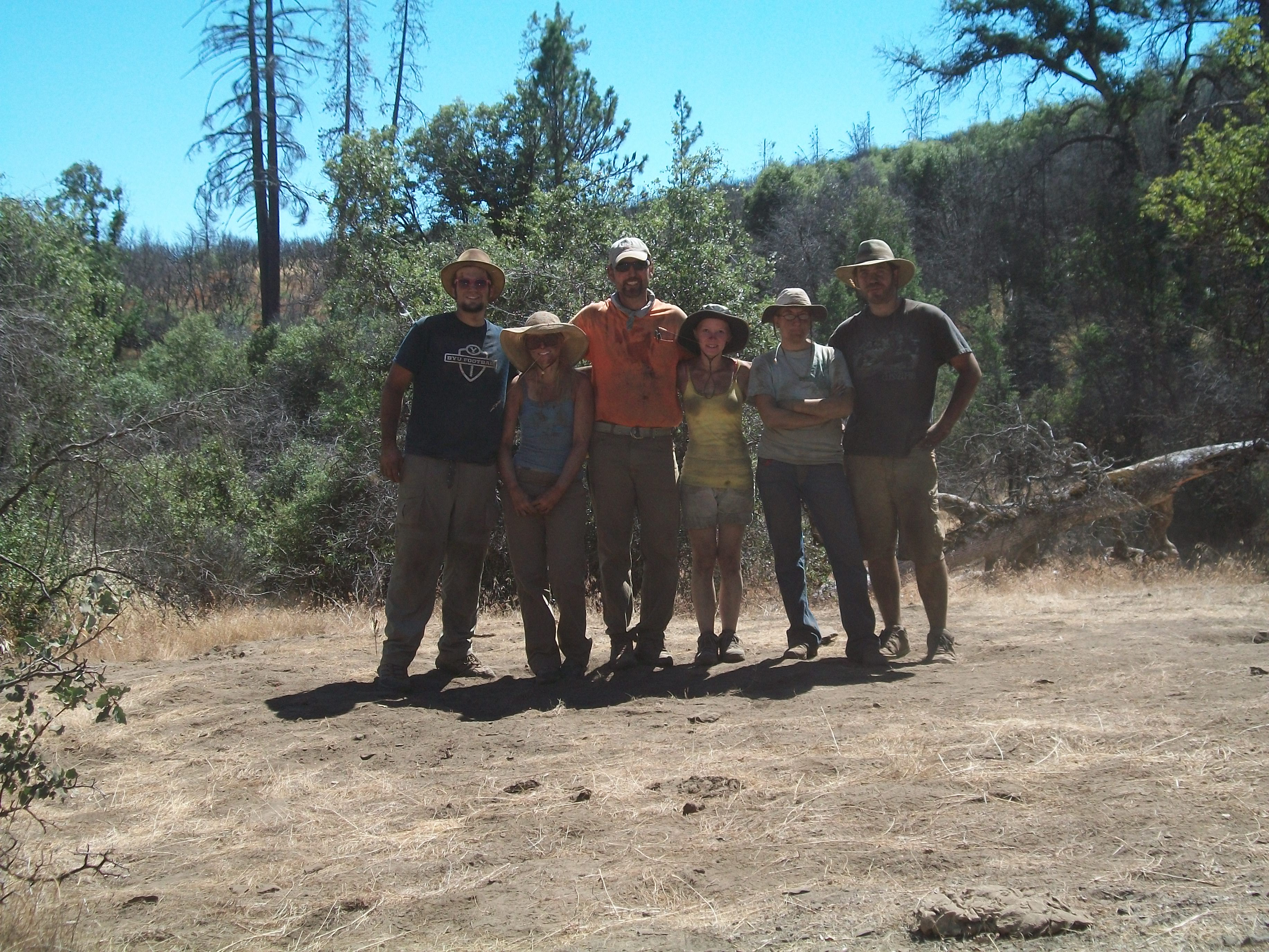 End of Excavation at Billy-Bob