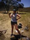 Jillian Excavates at Longhorn
