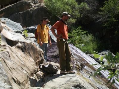 Survey Along the Merced River