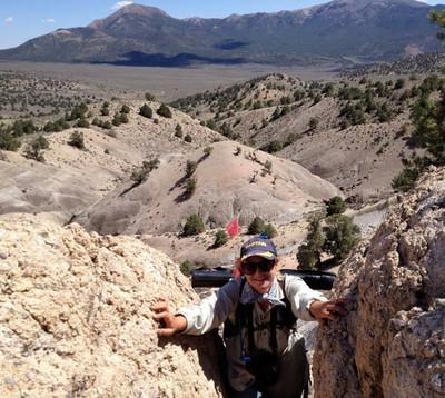 Climbing, like a boss.