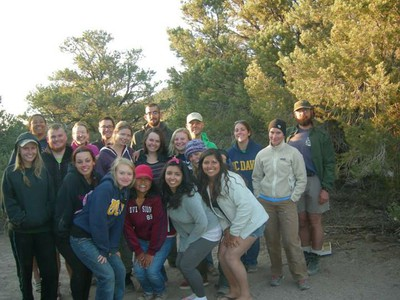2014 UCD Archaeological Field School Crew