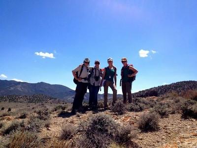 The female members of Team Mountain Sheep.
