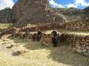 Lauren, Erika, and Fernando visiting the site of Pukara.