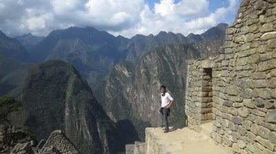 Greg at Machu Pichu.