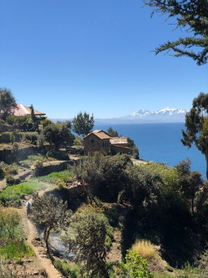 The Bolivian crew also spent time on the Isla del Sol and Copacabana.